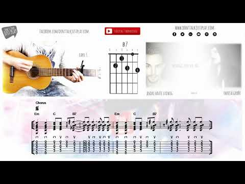 Camila Cabello - Havana ft. Young Thug - Tutorial - Guitar Lesson - How to play on guitar