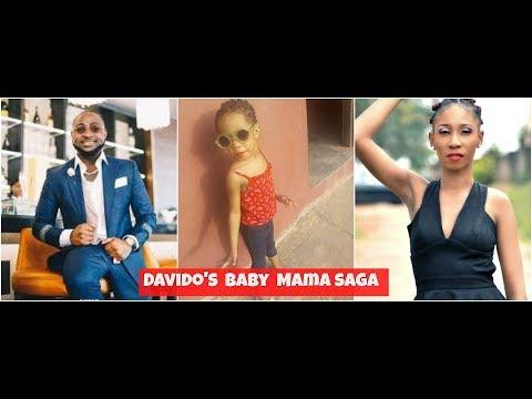 Davido's Baby Mama Drama   First Daughter Claim!