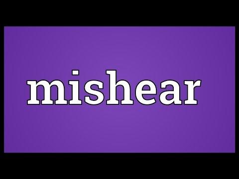 Header of mishear
