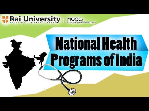 National Health Programs of India - Public Health