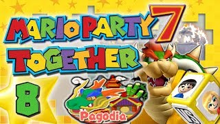 MARIO PARTY 7 TOGETHER 🎲 #8: Wer entflieht Bowsers Freak Out auf Pagodia?