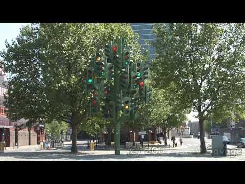 London - Trafalgar Square, Piccadilly Circus, Canary Wharf, Millennium Footbridge,Knightrider Street