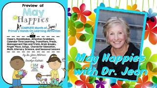 May Happies with Dr  Jean