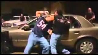 John cena vs Eddie Guerrero Parking Lot Brawl 2003