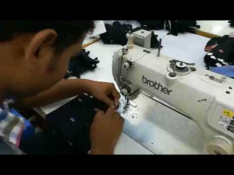 Woven Shirt Process - Sleeve Placket Box making in Bangladesh textile / Garments