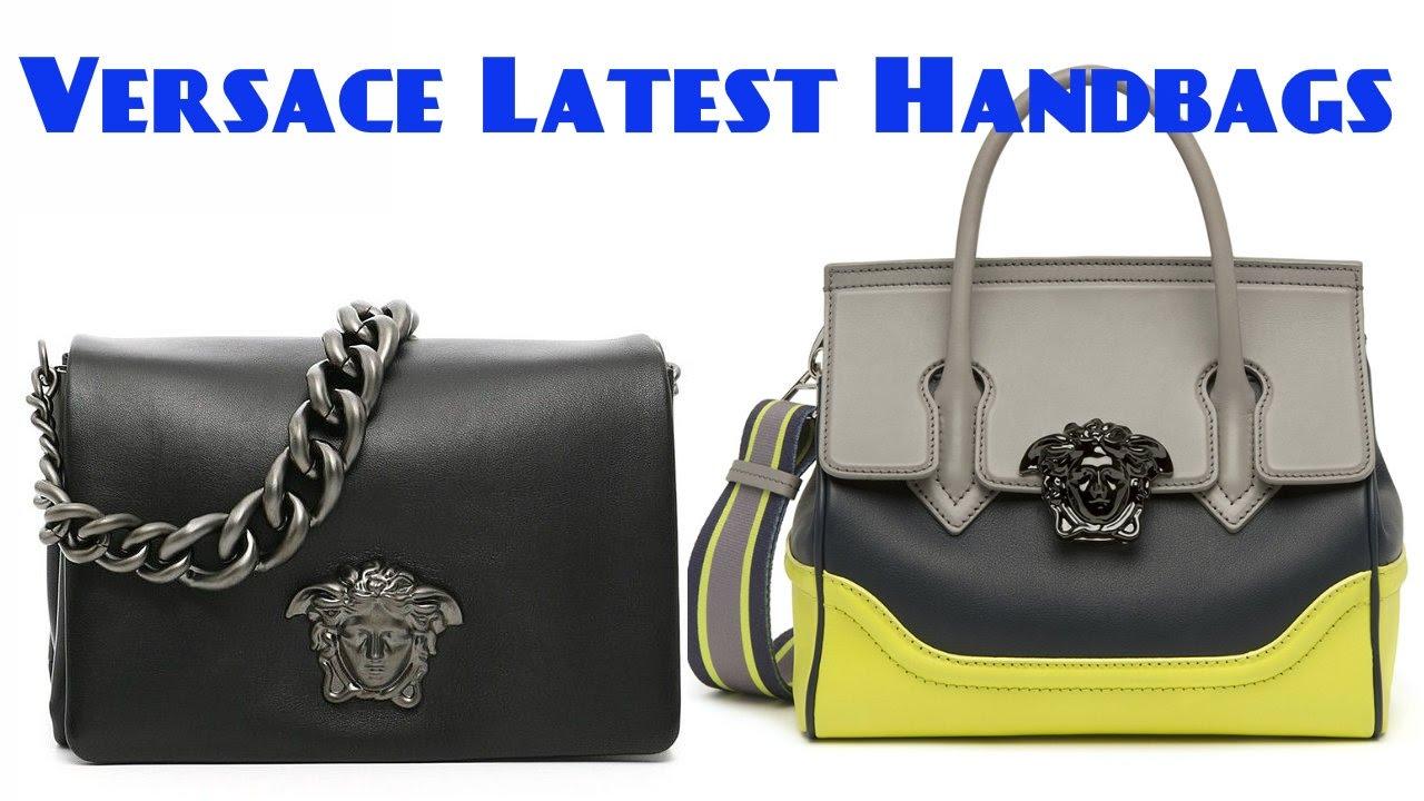Versace Latest Handbags Collection 2017