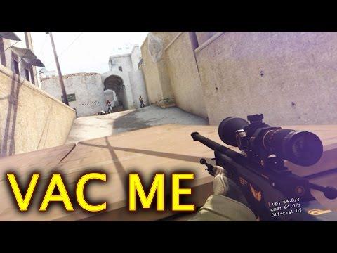 CS:GO VAC ME | لقطات كاونتر
