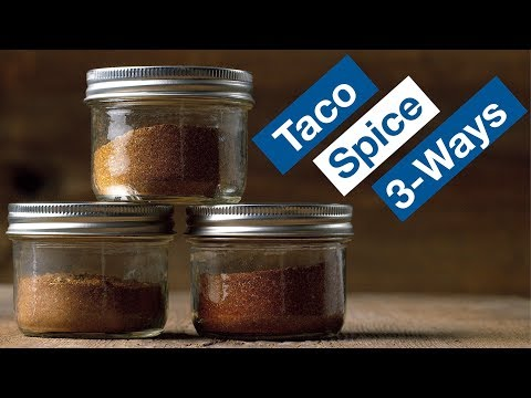 How To Make DIY Taco Spice Seasoning Recipe 3 Ways