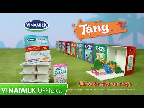 Quảng cáo Vinamilk - Sữa chua Vinamilk 2015 (tặng vườn thú - MN)