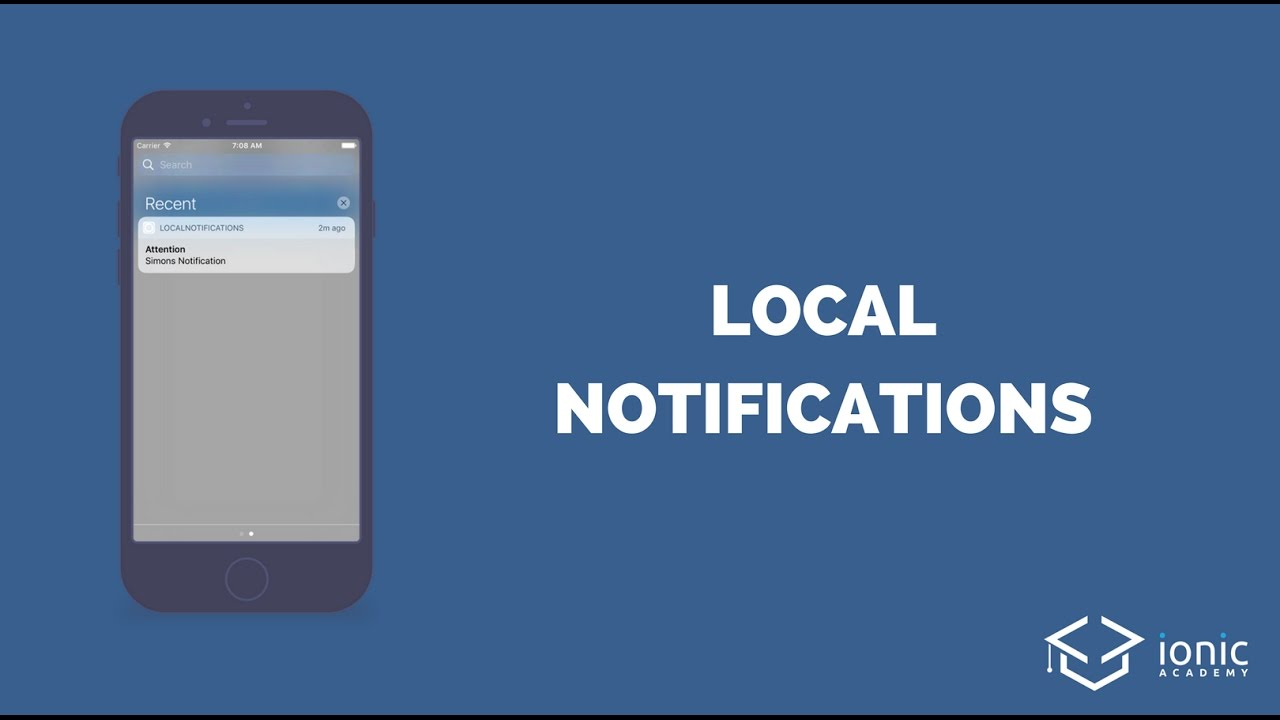 How to send Ionic Local Notifications (Schedule, Payload and