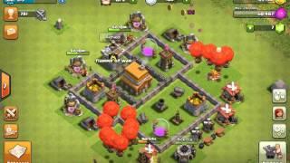 Clash of clans - attacchi del mio clan #2