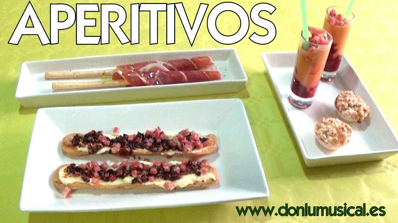 Aperitivos f ciles r pidos y originales youtube for Comidas originales y faciles