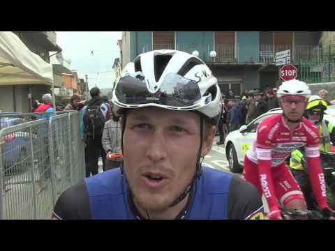 Matteo Trentin - intervista al termine della 6ª tappa della Tirreno-Adriatico 2016