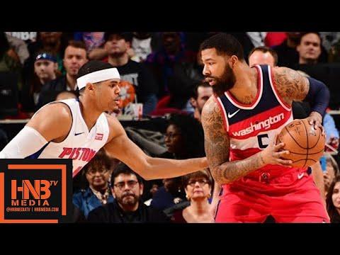 Washington Wizards vs Detroit Pistons Full Game Highlights / Jan 19 / 2017-18 NBA Season
