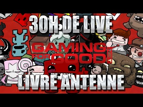 Libre antenne à la fin de l'evenement GamingForGood [4/4]