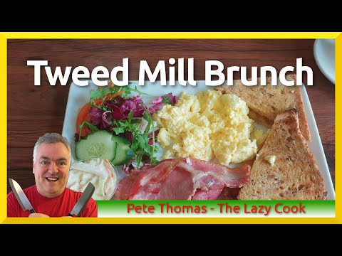 Tweed Mill Brunch - St Asaph - North Wales UK