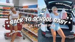 BACK TO SCHOOL: supplies haul, new apartment organization + other prep!