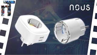 Neue Alexa-Steckdosen | niceBox: NOUS Smart WIFI Socket A1+A2  [Unboxing]