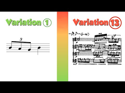 Variation: 14 Ways to Compose with One Idea