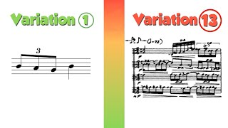 Variation: 14 Ways t๐ Compose with One Idea
