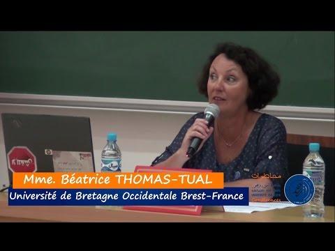 """Conférence """"9"""" Béatrice THOMAS-TUAL - Gouvernance et management des communes cas de la France"""
