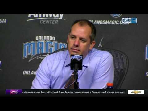 Frank Vogel -- Orlando Magic vs. Charlotte Hornets 12/28/2016