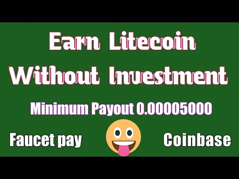 Earn Litecoin Without Investment | how to make money online