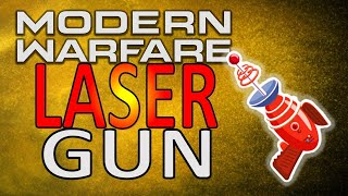 BEST CLASS SETUP LASER GUN IN MODERN WARFARE M4