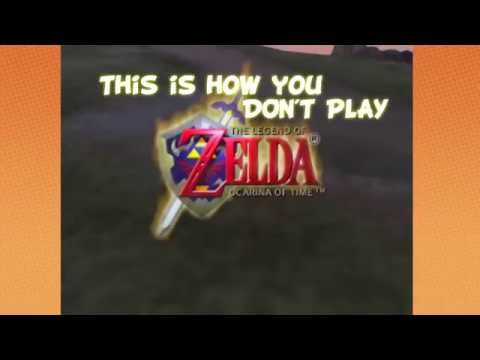 This is how you DON'T Play Ocarina of Time (w/Game Grumps)