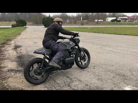 Bmw K75 Scrambler Treidas Motorcycles Uab Treidas Youtube