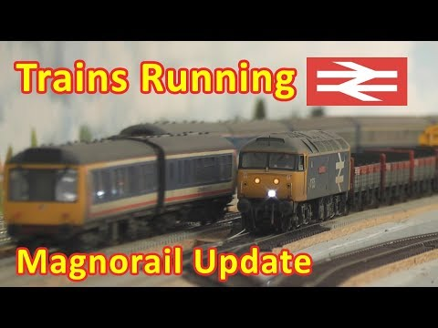 Magnorail Update & Running Session
