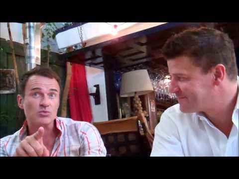 Julian McMahon and David Boreanaz on FULL CIRCLE