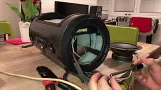 Ako si vyrobiť prenosný reproduktor z plechovej tuby od kávy:)))
