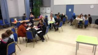 Political Speed Date at Craven Arms in Shropshire