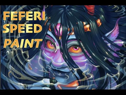 Feferi Speed Paint