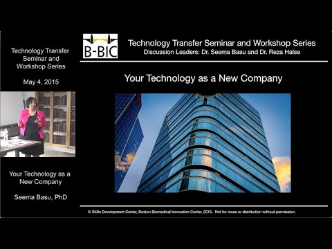 Your Technology as a New Company