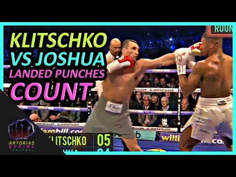 Wladimir Klitschko vs Anthony Joshua (Landed Punches Count)