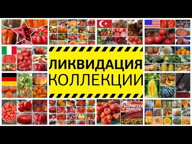 С 13 мая в нашем магазине стартует новая акция: «Полная ликвидация коллекции семян сезона -2020»