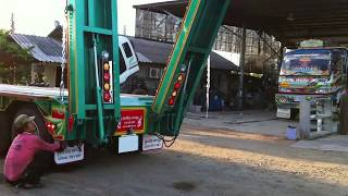 mj k green low bed trailer thailand 1