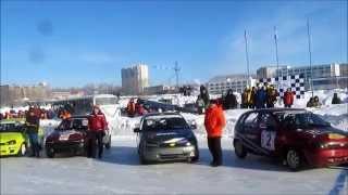 Зимние трековые гонки ипподром Ижевск 7.02.2015
