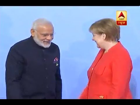 Germany: German Chancellor Angela Merkel welcomes PM Modi to the G-20 Summit