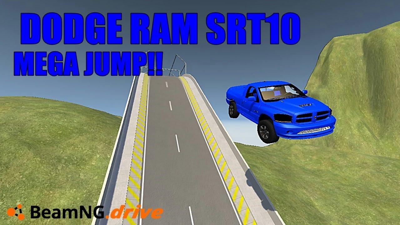 Beamng Drive Dodge Ram Srt10 Mega Jump