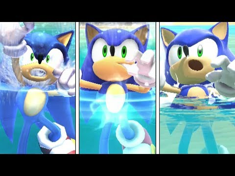 Evolution Of Swimming And Drowning Animations in Super Smash Bros (Brawl - Ultimate) thumbnail