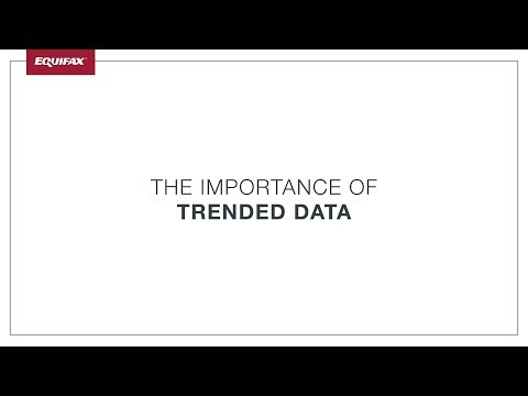 The Importance of Trended Data