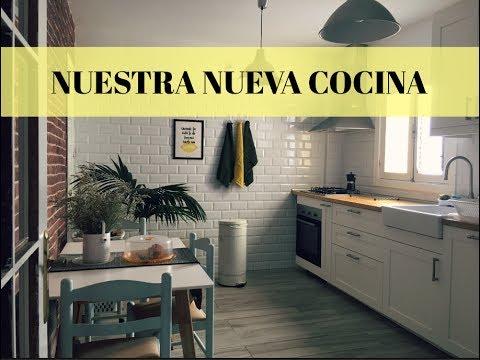 NUESTRA NUEVA COCINA - IKEA/ENCIMERA DE MADERA - CAROLINA TOLEDO