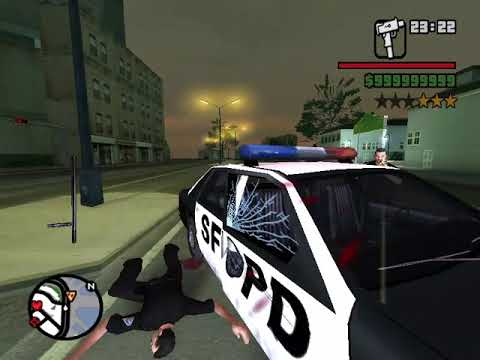 GTA  San Andreas First Person Mod Roaming