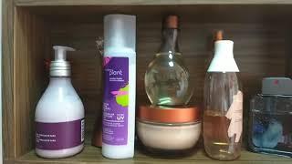 O que tem no meu banheiro? Meus produtos de uso diário!