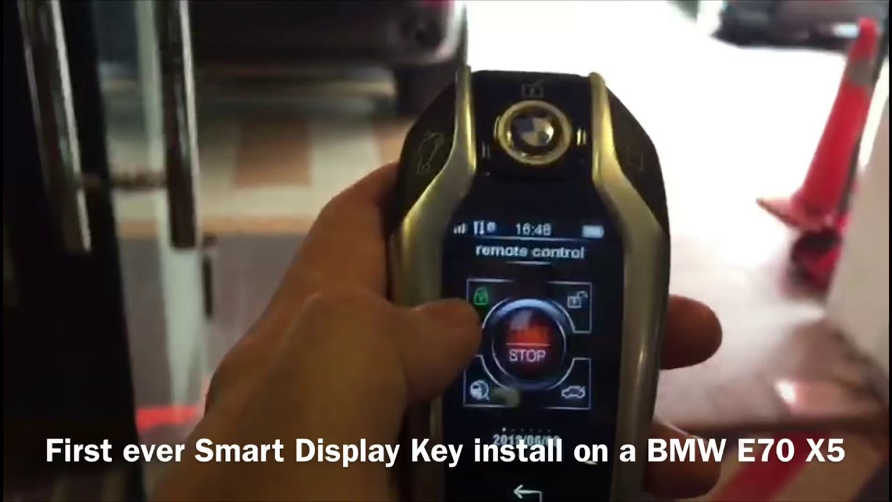 Bmw E70 X5 Smart Display Key Upgrade