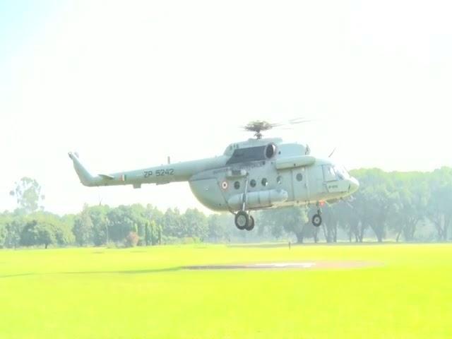गृह मंत्री अमित शाह व मुख्यमंत्री पुष्कर सिंह धामी ने किया आपदा ग्रस्त क्षेत्रों का  हवाई सर्वे।