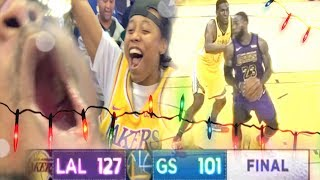 Gambar cover BEST CHRISTMAS EVER!! LAKERS vs WARRIORS COURTSIDE CLUB VLOG!